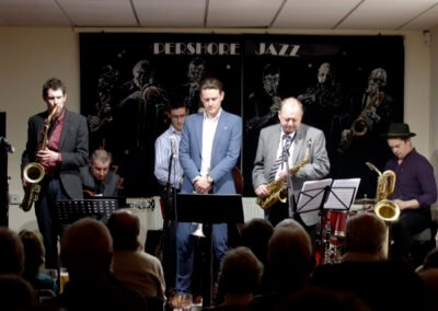 Brownfield/Byrne Quintet with Alan Barnes